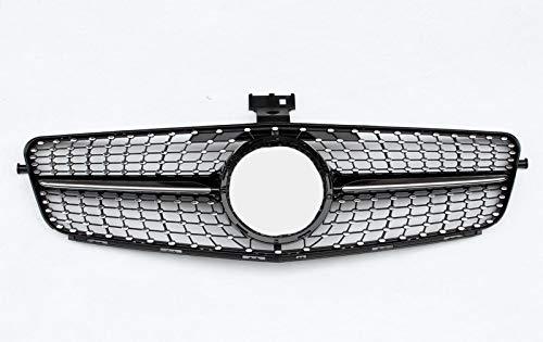 MSG ZY C200 C300 Grill, Voorkap Bumper Niergrill Grill, Gemakkelijk te installeren Fit Mercedes-Benz C-Class 2007-2014 W204 C200 C300 Grille