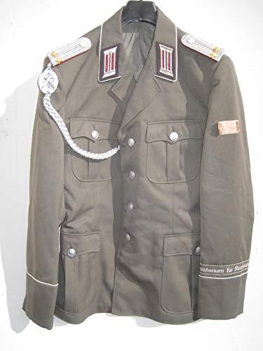 VEB NVA Offizier Uniform Jacke Gr. 52 Schützenschnur, Effekten Ministerium für Staatssicherheit MFS