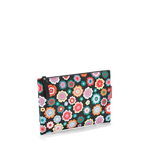 Reisenthel case 1 Pochette per trucco, 24 cm, Multicolore (Happy Flowers)