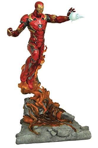 DIAMOND SELECT TOYS Marvel Milestones Captain America Civil War Movie Iron Man Resin Statue image