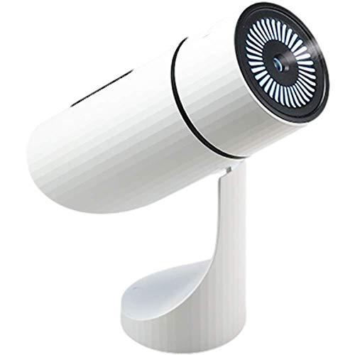 Mixnon Tragbarer Mini Luftbefeuchter,Flüsterleise Luftbefeuchter,2 Nebelmodi Cool Luftbefeuchter,Einstellbarer Winkel,Auto-Shut-Off,1000 mAh Wiederaufladbar,für Büro,Schlafzimmer,Auto,Reisen (Weiß)