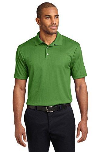 Port Authority® Performance Fine Jacquard Polo. K528 Vine Green 3XL