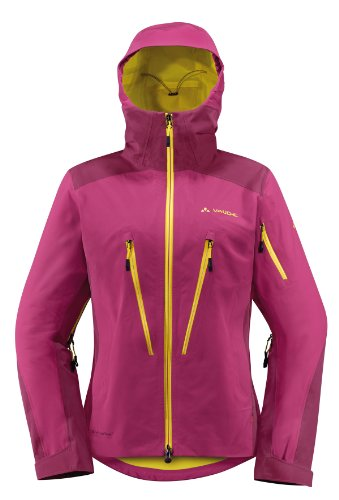 VAUDE Damen Jacke Women's Aletsch Jacket II, Bordeaux, 40, 04741