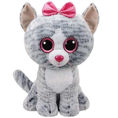 TY- Peluche, juguete, Color gris, 40 cm (United Labels Ibérica 36838TY) , color/modelo surtido