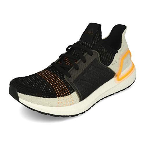 adidas Ultraboost 19 Man Black White 7.5 UK