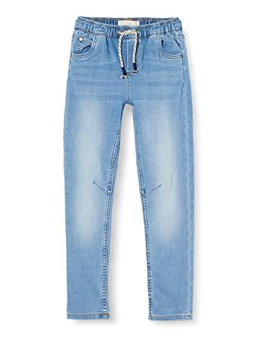 ZIPPY Vaqueros Knit SS20 Jeans, Light Blue Denim, 7/8 para Niños