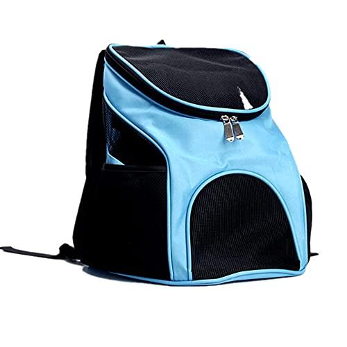 Mochilas para Perros para Perros pequeños y Gatos, Bolsa de Transporte Frontal de Viaje para Cachorros y Mascotas con diseño de Cabeza Exterior Transpirable para Viajes, Senderismo, Uso al Aire Libre