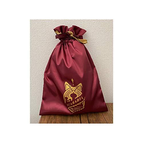 【予約販売】ツイステッドワンダーランド サテン巾着 スカラビア APDS5497_2