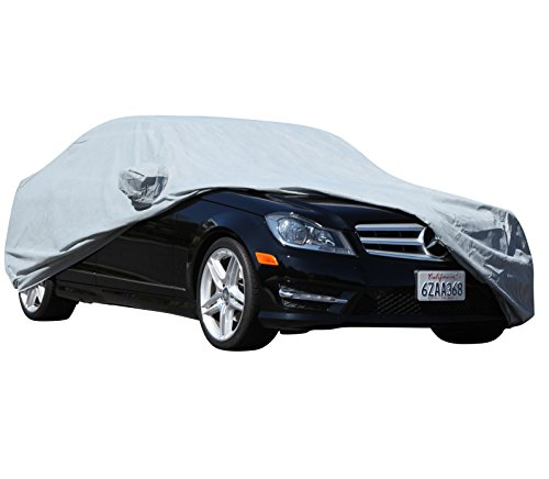 XtremeCoverPro 100% Breathable Car Cover for Select Cadillac CTS CTS-V Coupe 2011 2012 2013 2014 2015 (Space Gray)