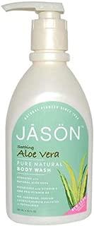 Jason Natural Body Wash and Shower Gel, Aloe Vera 30 oz
