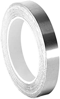3M 3361 High Temperature Stainless Steel/Acrylic Adhesive Foil Tape, 0.5