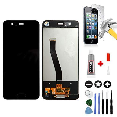 Mobilevie - Cristal táctil + Pantalla LCD Original para Huawei P10 (Incluye Herramientas), Color Negro