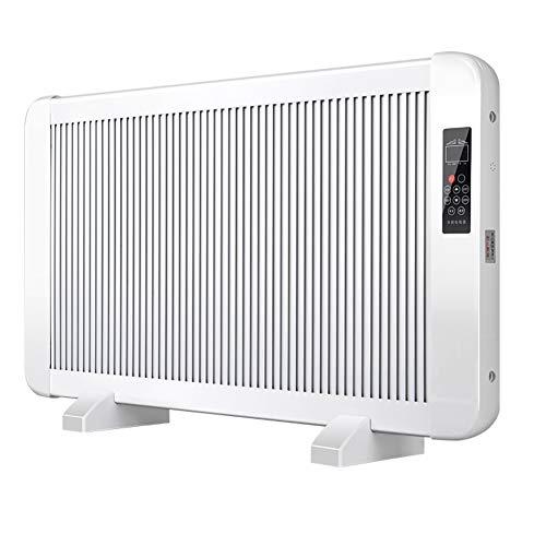 NINI Cristal de Carbono Radiador por convección Heating150020002500W Calentador de LCD de Sreen y eléctricos a Distancia del Calentador de Ahorro de energía,2500W