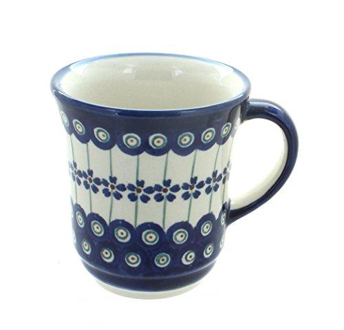 Original Bunzlauer Keramik Becher V=0,30 Liter im Dekor 166a