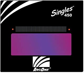 "ArcOne S450-9 Horizontal Single Auto-Darkening Filter for Welding, 4 x 5"", Shade 9"
