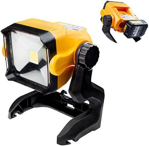 Girapow LED Work Light Cordless Super Bright Light Powered by Dewalt Makita Ryobi Black Decker product image