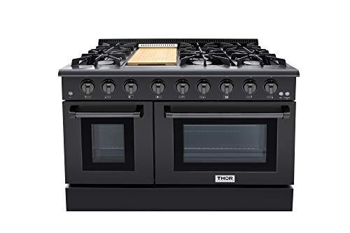 Thor 48 Gas Range Professional Kitchen Style Natural Gas, Propane...