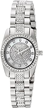 Bulova Crystal White Mother of Pearl Dial Ladies Watch