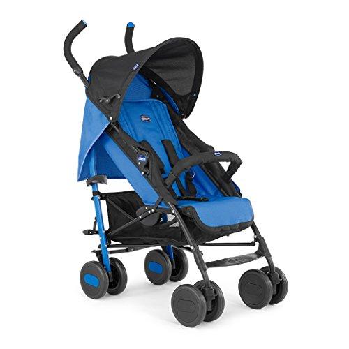 Chicco Echo - Silla de paseo, ligera y compacta, 7,6 kg, color azul