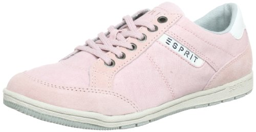 ESPRIT Randy Lace Up Q13900, Damen Sneaker, Pink (pale rose 664), EU 37