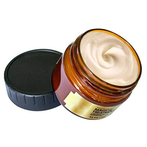 60 ml Keratin Hair Mask Hair Nutrition Mascarilla suave para el cabello, Acondicionador profundo Keratin Hair Tonic Treatment Tratamiento: 5 segundos de reparación: raíces de cabello seco