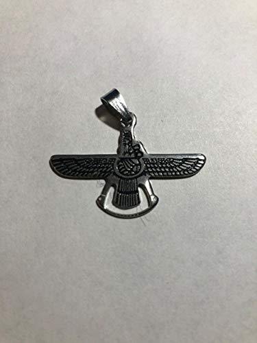 Persian Emblem Farvahar Ahura Mazda Deal Sale Nibiru Palent X Aryan Ancient Chain Necklace Ahura Mazda