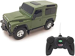 Jamara 405154 405154-Land Rover Defender 1:24 Officially Licensed Rc Auto, Green
