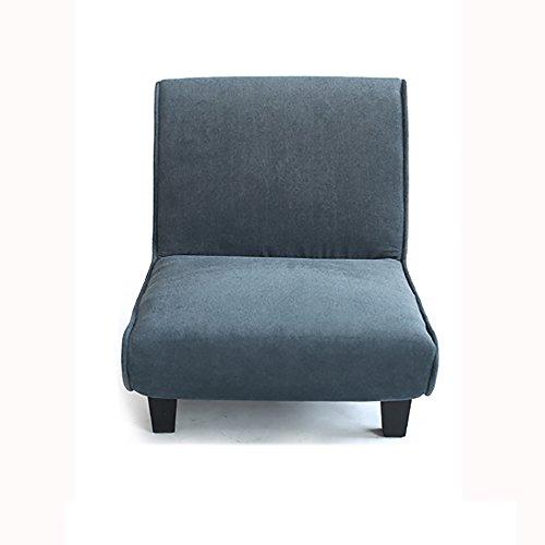G-Y Canapé Paresseux, Unique Canapé En Tissu Créatif, Élégant Canapé Chambre À Coucher (peut Être Plié) (Couleur : Noir)