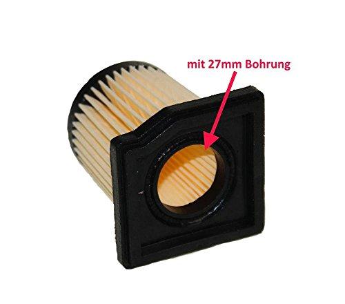 Tuning Luftfilter 27mm eckig für Mofa Hercules Optima Prima, DKW, KTM, Rixe, Sachs