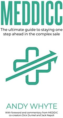 MEDDICC The ultimate guide to staying one step ahead in the complex sale product image