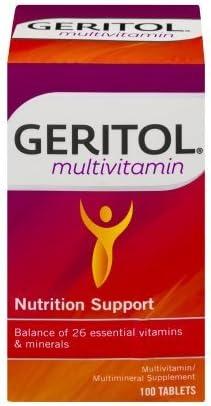 Geritol Complete Regular dealer 100 Tablets Product