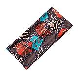 FENGCHENG Hairband Creative Nuevo Color Hairband Impreso Leopardo Banda Ancha Deportes Yoga Elástico Mujeres Diadema Negro