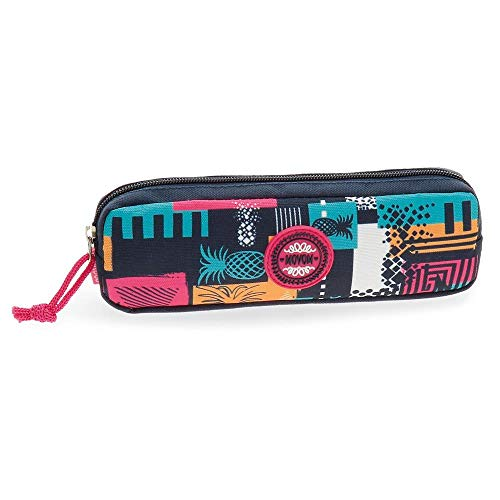Movom Pinneapple Trousse Multicolore 22x7x3 cms Polyester