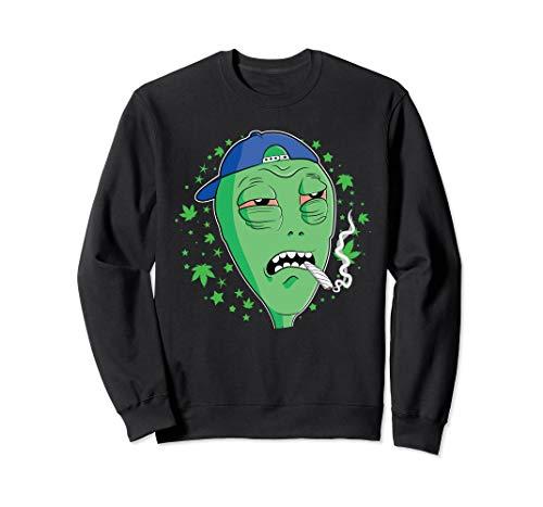 Funny Alien Area 51 420 Stoner T-Shirt...