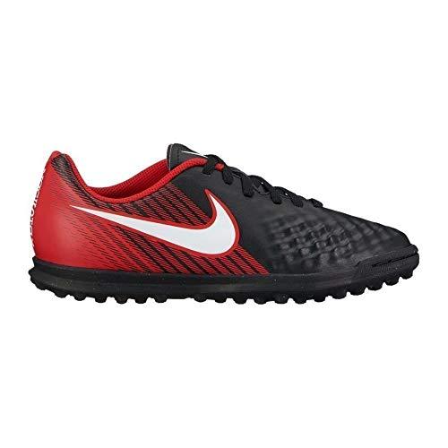 Nike Unisex-Kinder Magista X Ola II TF JR 844416 Fußballschuhe, Schwarz (Schwarz/Weiß-Universität Rot 061), 38 EU