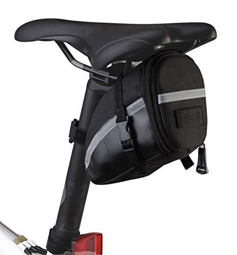 MH-RING Bolsa de Sillín para Bicicleta con Herramientas de Reparación, Herramienta de Reparación Multifunción para Bicicleta para Bicicletas de montaña Autos de Carrera