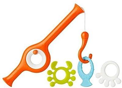 Boon Cast Fishing Pole Bath Toy, Orange
