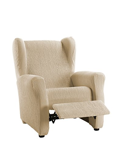 Martina Home Emilia tas stoel Relax, stof, beige, 33 x 8 x 42 cm