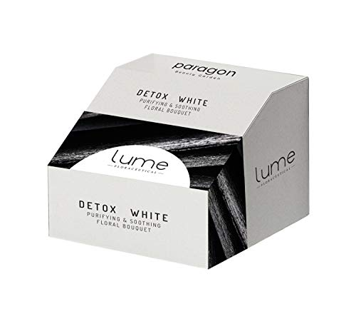Lume by Paragon Beauty Garden Detox White 7 step Single Usage Skin Care Facial Kit   Purifying and Soothing Cleanser For all Skin Type   A Complete Face Cleanser for Acne-prone skin   Professional Salon Range Skincare Kit At Home   Single Usage