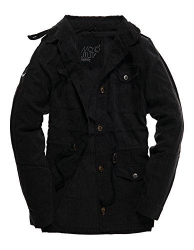 Superdry Luxe Utility Shirt Jacket Regenjas voor dames