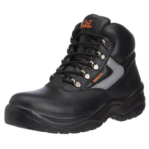 Sterling Safetywear - Scarponcini antinfortunistici, Uomo, Nero (Schwarz (Schwarz)), 39,5 (6 uk)
