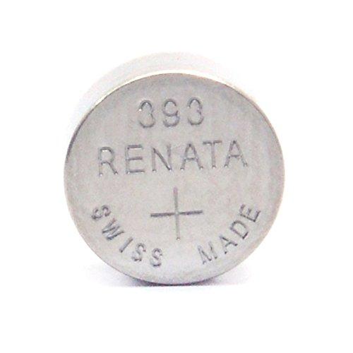 Renata / Swatch Group - Knopfzelle Silberoxid 393 RENATA 1.55V 80mAh - Blister(s) x 1