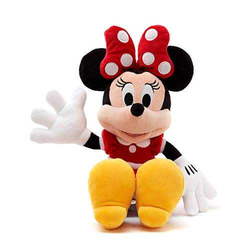Disney Store Minnie Mouse Small Soft Plush Toy, 33cm/12, Iconic Cuddly Toy...