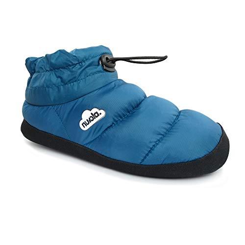 Zapatilla de Estar por casa NUVOLA®,Boot Home Suela de Goma. Zapatilla de...