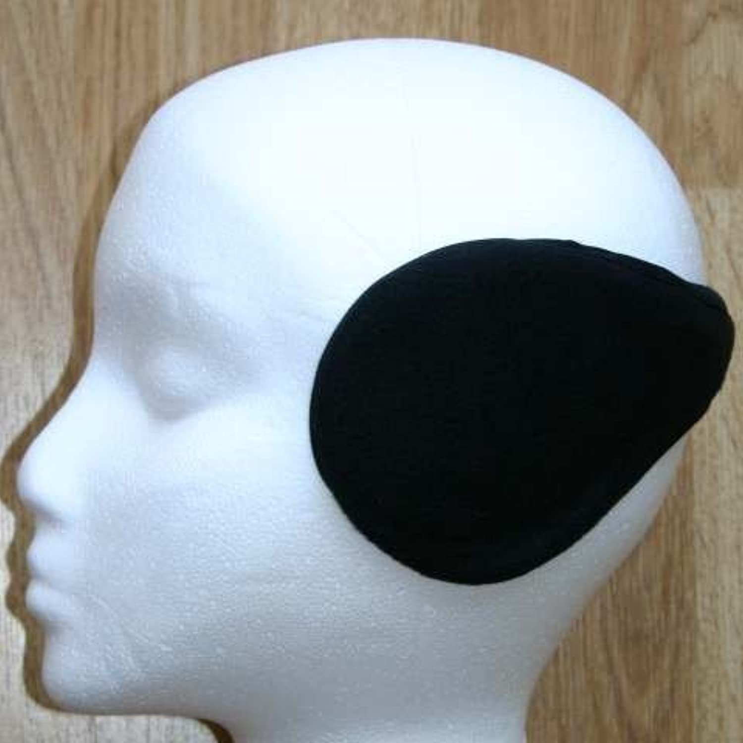 Black wraparound ear muffs earmuffs warmers by TCAccessories