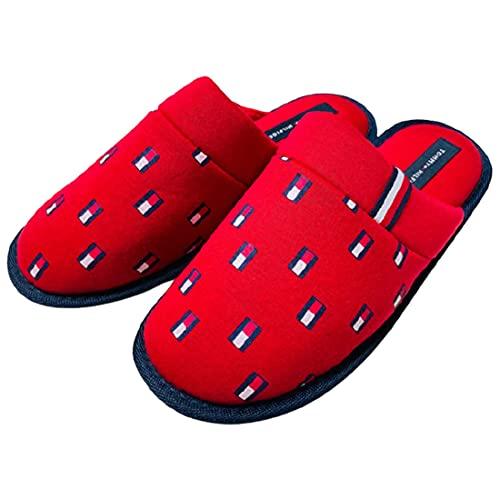 [トミーヒルフィガー] スリッパ ルームシューズ メンズ tmXANDER Red_Multi_Fabric US9(27.0cm) [並行輸入品]
