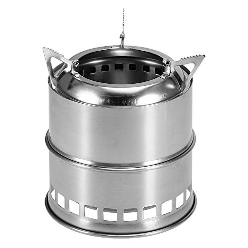 Docooler Portable Folding Camping Stove Outdoor Cooking Wood...