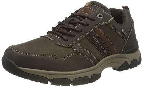 TOM TAILOR Herren 9081403 Sneaker, Mokka, 43 EU