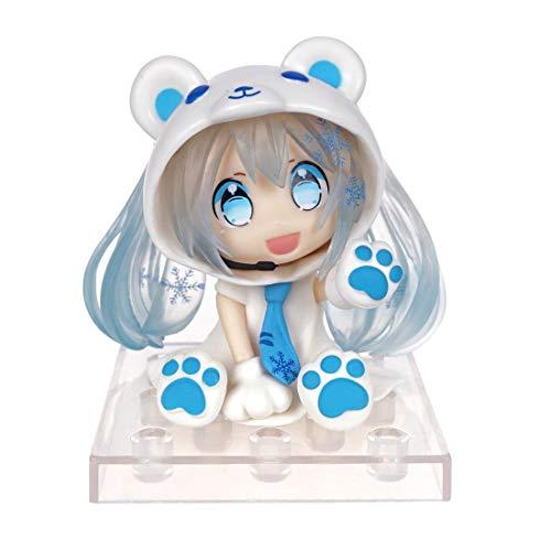 CoolChange Vocaloid Chibi Figur von Eisbär Miku Hatsune, Farbe: Blau