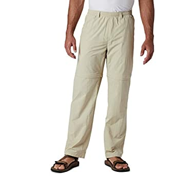 Columbia Men s Standard Backcast Convertible Pant Fossil Large x 30